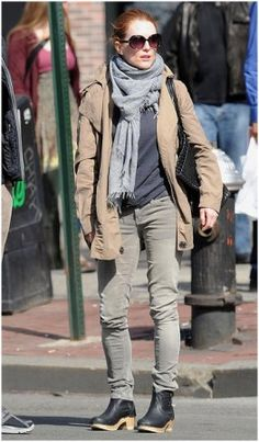 street style...love the clog booties