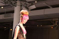 #NYFW Runway #hair by Salon Grafix