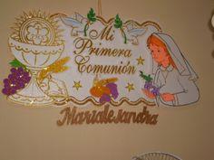 Decoración para primera comunión EN FOAMI - Imagui