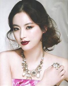 Jung Da Hye for InStyle Wedding Korea