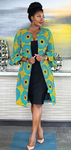 Items similar to Ankara jacket african jacket african dresses summer dresses wom. - Items similar to Ankara jacket african jacket african dresses summer dresses womens dresses wax print dress on Etsy Source by marajung - Latest African Fashion Dresses, African Print Dresses, African Print Fashion, Africa Fashion, Fashion Prints, African Prints, Ankara Fashion, Modern African Dresses, African Inspired Fashion