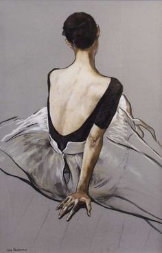 Figurative Paintings by Katya Gridneva - Art & Illustration - Kunst Figure Painting, Painting & Drawing, Dancer Drawing, Drawing Classes, Figure Drawing, Arte Fashion, Photocollage, Chiaroscuro, Life Drawing