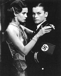 """Helmut Berger e Florinda Bolkan in una scena de """"La caduta degli dei"""",diretto da Luchino Visconti,1969"""
