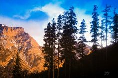 cottage mountain view