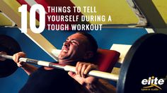 Make your way through that tough workout ahead with these tips!