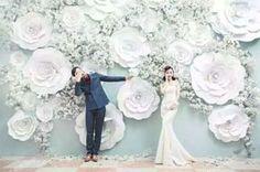 30 Unique and Breathtaking Wedding Backdrop Ideas - Rustic Weddings Trendy Wedding, Perfect Wedding, Diy Wedding, Wedding Flowers, Dream Wedding, Wedding Day, Wedding Blue, Wedding Girl, Bohemian Backdrop