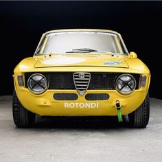• Yellow Submarine. Alfa Romeo Giulia Sprint 1600 GTA - 1965' • www.carandvintage.com By @weekend.heroes #CarVintage  #alfaromeo #gta #giulia #art #ferrari #mercedesbenz #porsche #bmw #bugatti #carporn #vintage #firstpost #first #elegance #lux #luxury #luxurycar #luxurylife #f4f #fashion #cars #londoncars #blacklist #newyork #autoporn #automotive #instacar #follow #cool