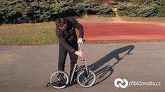 Scooter (footbike) | koloběžka – Swifty One – full review > Priblizovadla.cz