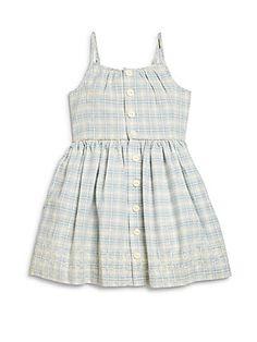 Ralph Lauren Little Girl's Plaid Dress