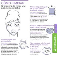 Cómo bien la How to get a proper Herbalife Recipes, Tips Belleza, Herbalism, Health Fitness, How To Get, Skin Care, Spa Facial, Face Cleaning, Ph