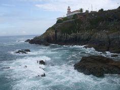 Lighthouse at Cudillero, Asturias, Spain