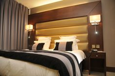 Park Grand London Heathrow Spa Treatments, Double Bedroom, Cool Items, Maui, Bedroom Ideas, Hotels, London, Cool Stuff, Furniture
