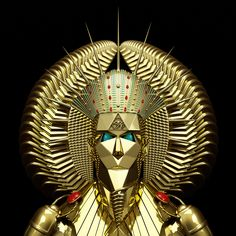 Egyptian Mask on Behance