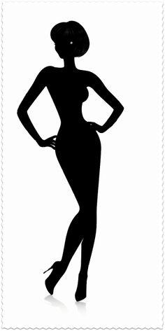 Woman silhouette clip art