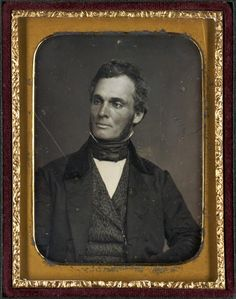 Robert Purvis, President of the Pennsylvania Anti-Slavery Society, circa 1845.  The independently wealthy son of an English cotton broker and free black mother from South Carolina, Robert Purvis helped organize the American Anti-Slavery Society in 1833, then served as president of the Pennsylvania Anti-Slavery Society from 1845-1850, and as chairman of the Philadelphia Vigilance Committee from 1852-1857. By his own account Purvis helped a slave a day reach freedom for close to thirty years.