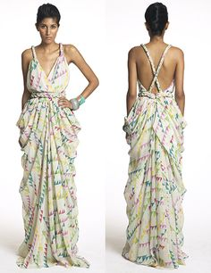 Mara Hoffman Maxi.. i would like to recreate the top half of this for a dress i want to sew!