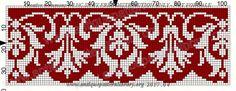 Gallery.ru / Фото #56 - 11 - tatta81 Embroidery Patterns Free, Loom Patterns, Cross Stitch Embroidery, Cross Stitch Borders, Cross Stitch Designs, Cross Stitch Patterns, Knitting Charts, Knitting Patterns, Crochet Patterns