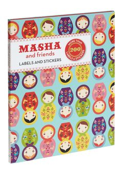 Masha & Friends Sticker Set - Multi