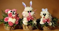 animal flower arrangements | It makes sense that they would only have one artist. To survive ...