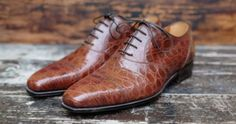 http://chicerman.com  mikobobak:  http://chicerman.com dandyshoecare: Owning a pair of crocodile shoes is no longer a luxury. True luxury is to have a pair of crocodile shoes with customized color created for your by Dandy Shoe Care. So you will have the shoes really unique and unmistakable in a color that no one else will have. Luxury Brown by Alexander Nurulaeff - Dandy Shoe Care Pezzo Unico for the great shoe maniac Mr.S.N. #menshoes http://ift.tt/1fym3dx  #menshoes