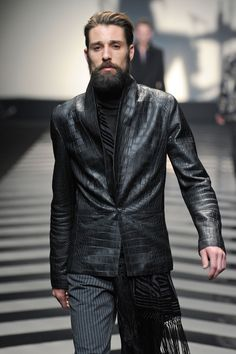 leather jacket - Roberto Cavalli - Jacket is great, love the sash, can't wait for it to get cold out again.
