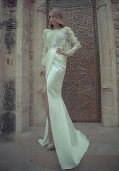 Yaki Ravid Couture Wedding Line 2012 Sophisticated Bride Dream Dress, I Dress, Dress Sleeves, Lace Dress, Full Sleeves, Lace Sleeves, Dress Long, Bridal Gowns, Wedding Gowns