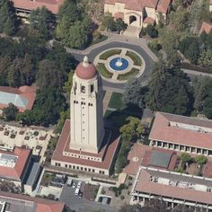 Amazing satellite imagery, Celebrity Homes and more! Bing Maps, Stanford University, Celebrity Houses, Adventure Time, Around The Worlds, Tower, California, Amazing, Travel