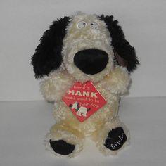 "SOLD!!  Sandra Boynton HANK the Dog Red Collar Plush Animal NWT 2013 11"" #SandraBoynton"