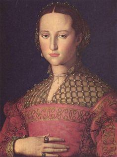 Eleanor of Toledo circa 1543 by Bronzino, she would've been 21