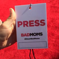 Super excited to have a mom's night out seeing Bad Moms! @badmoms #badmoms #badmomsevent #press #bloggingmom
