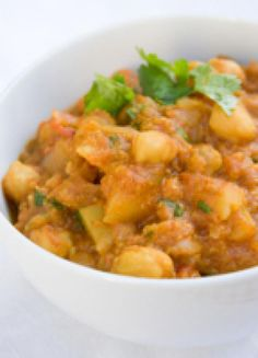 Easy, Healthy, and Simple to Make In Advance: Chickpea Curry: Chickpea Curry