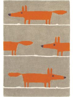 Wollteppich Mr Fox Taupe