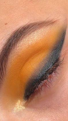 Super easy and beautiful makeup by Makeup Eye Looks, Eye Makeup Art, Skin Makeup, Easy Eye Makeup, Crazy Makeup, Makeup Geek, Creative Makeup Looks, Simple Makeup, Natural Makeup
