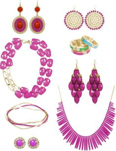 Towne & Reese Jewelry inspired by Radiant Orchid, Pantone Color of the Year 2014