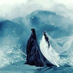 And someday, ypu and I will be together, if not in this lifetime, I ask for you in the hereafter. Chinese Drawings, Art Drawings, Chinese Painting, Chinese Art, Art Manga, Art Asiatique, Ancient China, Asian Art, Japanese Art
