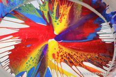 Homemade Spin Art Machine
