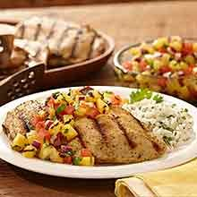 This delicious summer dish is ready in just 35 minutes! Try our Grilled Mojo Chicken with Charred Pineapple Salsa.