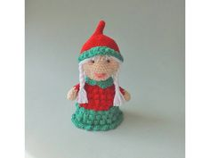 Weihnachtsfrau Amigurumi