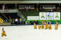 "56º Mundial de Patinação Artística - Brasília 2011  56th World Championships Artistic Roller Figure Skating 2011. Small Groups Long Programme.   ""Ramayana"" - BRA   photo: João Guilherme / DF"
