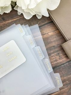 Girl Boss Foiled Clear Divider Tabs Modular System Labels – Planner Press - Planner Dashboards, Dividers and Sticker Kits Office Look Women, Binder Dividers, Binder Tabs, Planner Dashboard, Planner Tabs, Planner Ideas, Wedding Planner Binder, Diy Organisation, Teen Room Decor