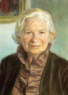 Portrait of P D James -- by June Mendoza P D James, Writers And Poets, World Of Books, Love People, Beautiful Words, Female Art, Painting & Drawing, Art Reference, Reading