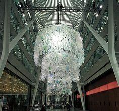 Lustre: Lustre en matériaux recycles