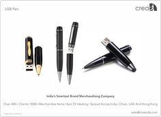 USB Pen for corporates by Crea - India's smartest brand merchandising company.