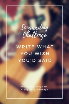 Tag your submission with #songfancychallenge!