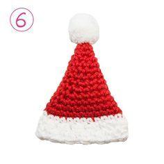 AdventsCALender Kerstmuts haken Baby Blanket Crochet, Crochet Baby, Knit Crochet, Crochet Music, Crochet Headband Free, Music Ornaments, Wedding Pins, Christmas Knitting, Diy Art