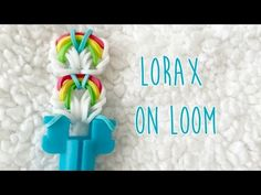 Rainbow Loom Lorax on Loom (NO HOOK) tutorial by Rena T