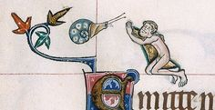 The Marginalized Art of Snail-Fighting in Medieval Europe – Upvoted Medieval Manuscript, Medieval Art, Illuminated Manuscript, Medieval Life, Snail Art, Medieval Paintings, Doodles, 17th Century Art, Early Middle Ages