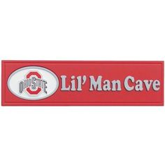 Ohio State Buckeyes Lil' Man Cave Sign