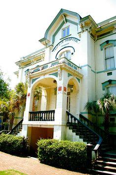 Telfair Hospital in Savannah GA by Clio7, via Flickr, This is where I was born, no longer a hospital.