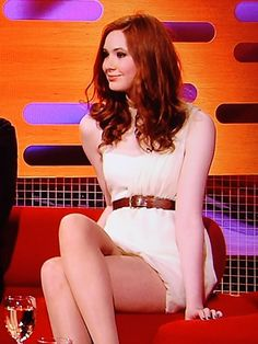 Karen Sheila Gillan, Gorgeous Redhead, Dr Who, Beautiful Celebrities, Doctor Who, Eleventh Doctor, Inverness, Redheads, Cool Outfits